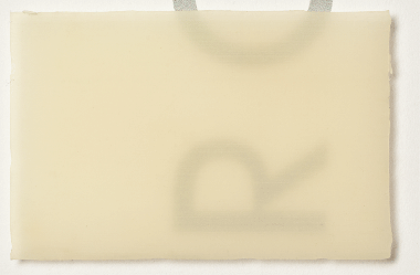 Latexgummi transluzent ca. 0,35 x 920 x 500