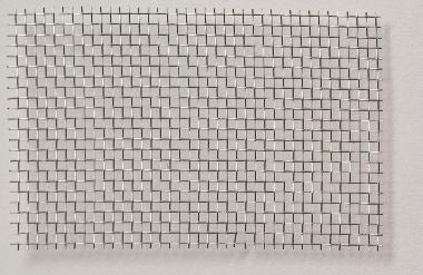 Aluminium wire mesh, flexible, varnished, mw = 1,4