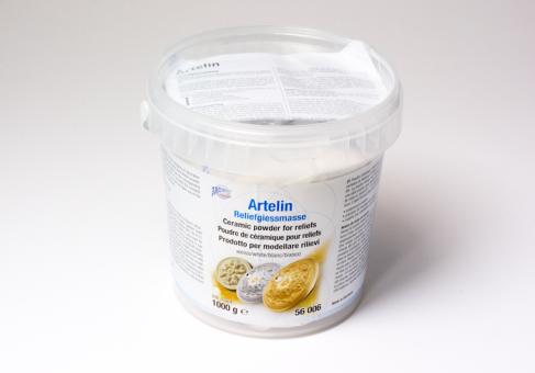 Artelin Reliefgießmasse weiß, 1000 g