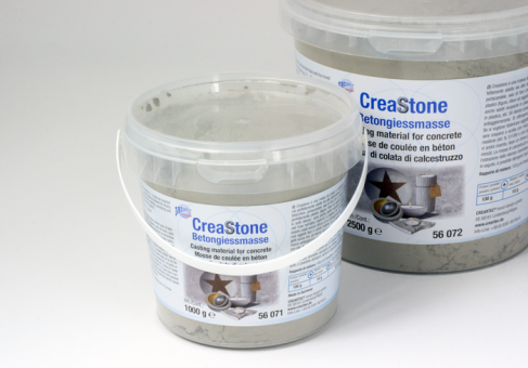 Creastone concrete casting compound 1 kg, grey