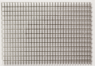 Hliníková mřížovina s podélnými otvory 2,4 x 1,2