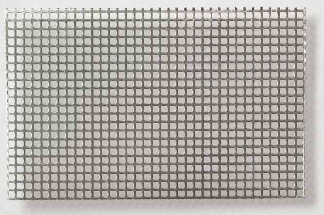 Alumínium perforált lemez négyzetlyukakkal 1,2 x 1,2
