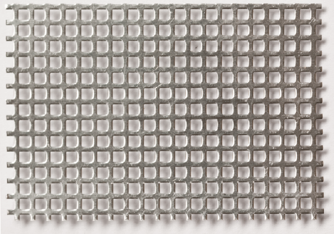 Aluminium Quadratloch 2,0 x 2,0