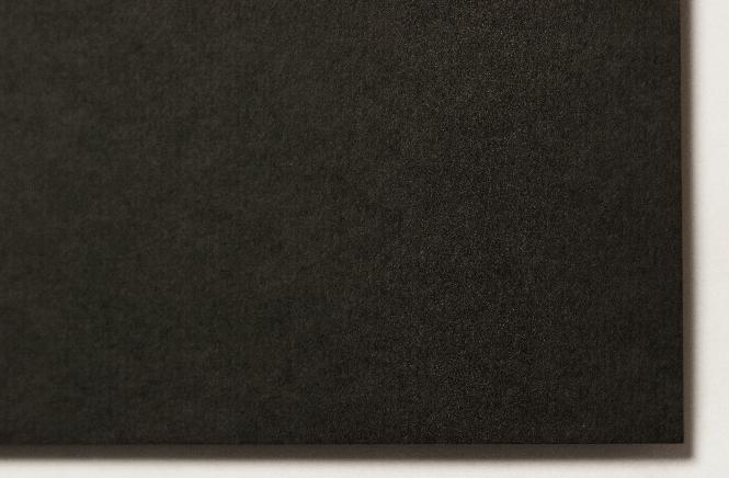 Cardboard Bowston black 2,0 x 700 x 1000