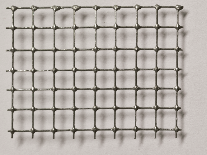 Stahl Drahtgitter punktgeschweißt, verzinkt, Mw = 6,3