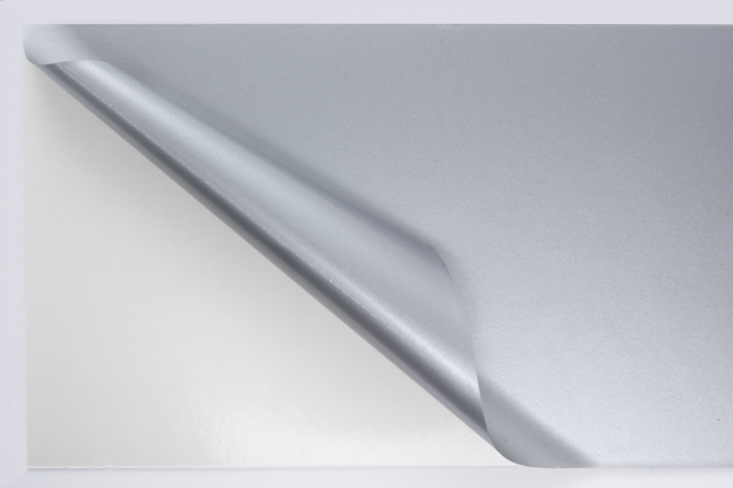 D mxc metallic klebefolie matt silber b 630 online for Klebefolie metall