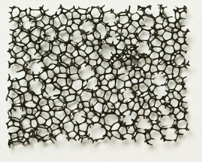 PU Schaumstoff schwarz, grob 10,0 x 300 x 400
