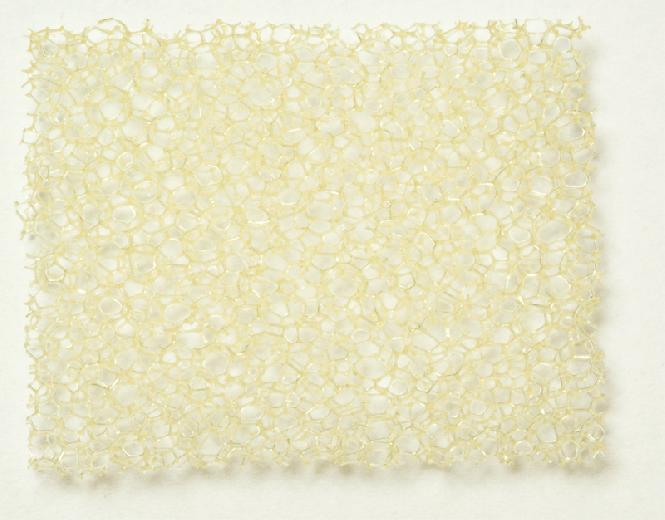 PU Schaumstoff beige, mittel 10,0 x 300 x 400