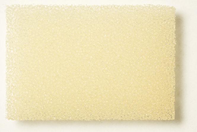 PU Schaumstoff beige, fein 3,0 x 300 x 400