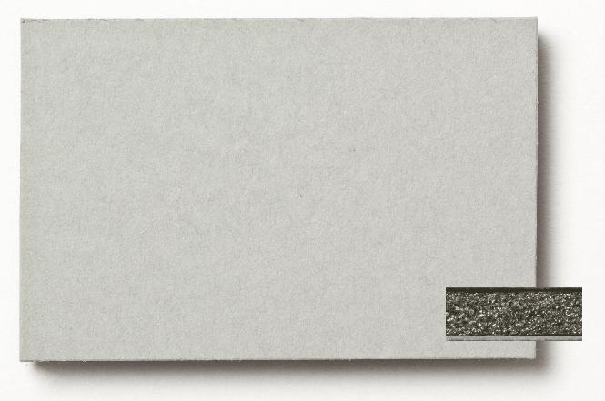 Sandwichplatte grau / schwarz, Kern schwarz, 5,0 x 500 x 700