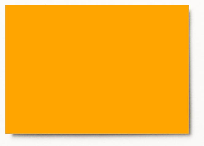 Tinted drawing paper orange