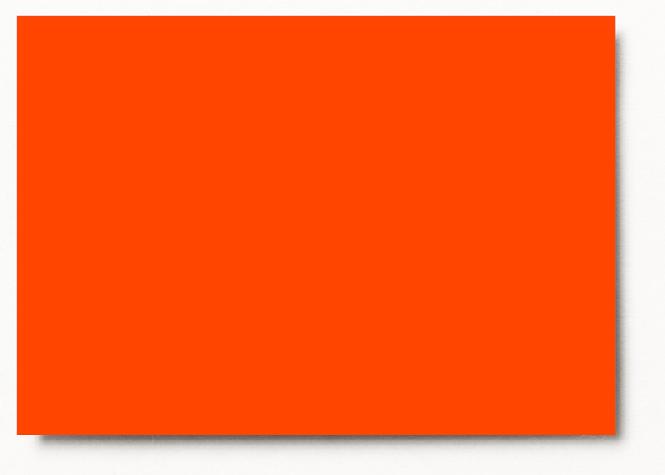 Photo mounting board orange