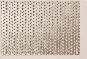 Hliník kruhové otvory striedavé ø = 1,1