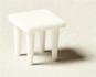 Square table white 1:100