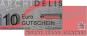 Gutschein im Wert von € 10.00