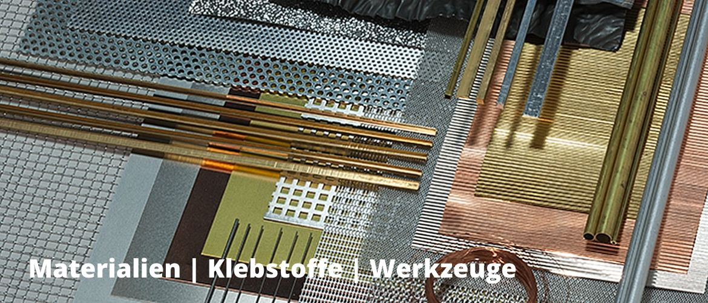 Archidelis | Materialien, Klebstoffe, Werkzeuge
